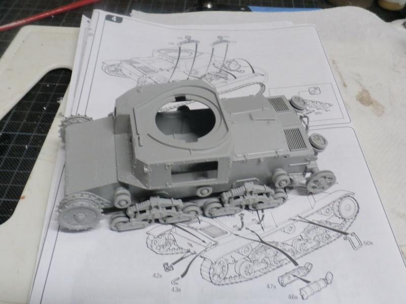 Carro Armato M14/41 Italeri 1/35 (FINI) Pa120012