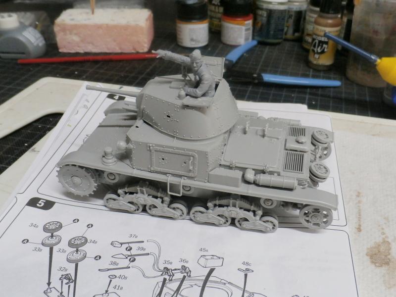Carro Armato M14/41 Italeri 1/35 (FINI) Pa120013