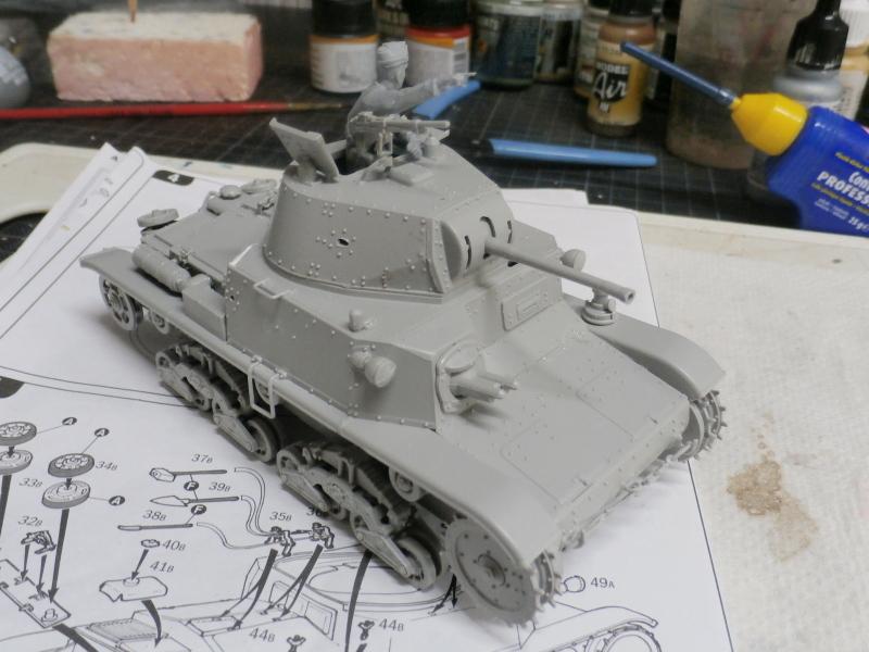 Carro Armato M14/41 Italeri 1/35 (FINI) Pa120014