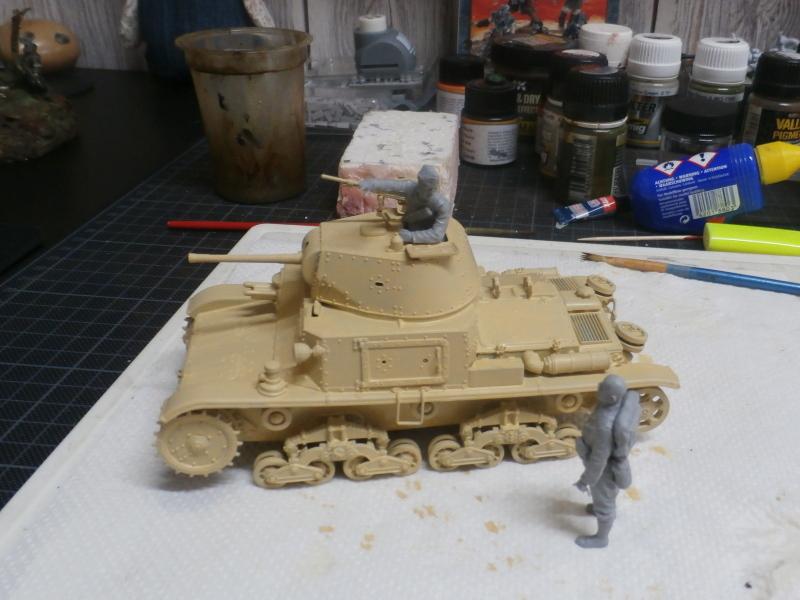 Carro Armato M14/41 Italeri 1/35 (FINI) Pa130017