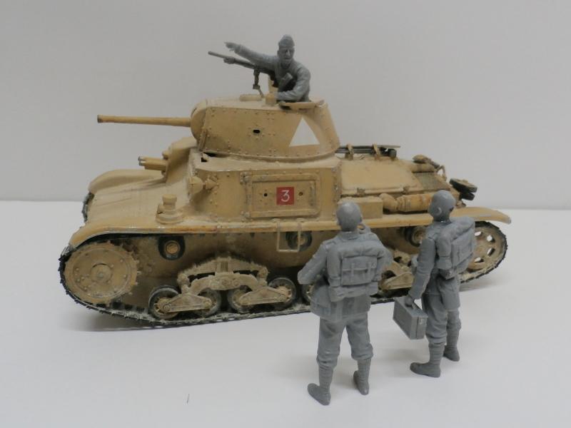 Carro Armato M14/41 Italeri 1/35 (FINI) - Page 2 Pa140018