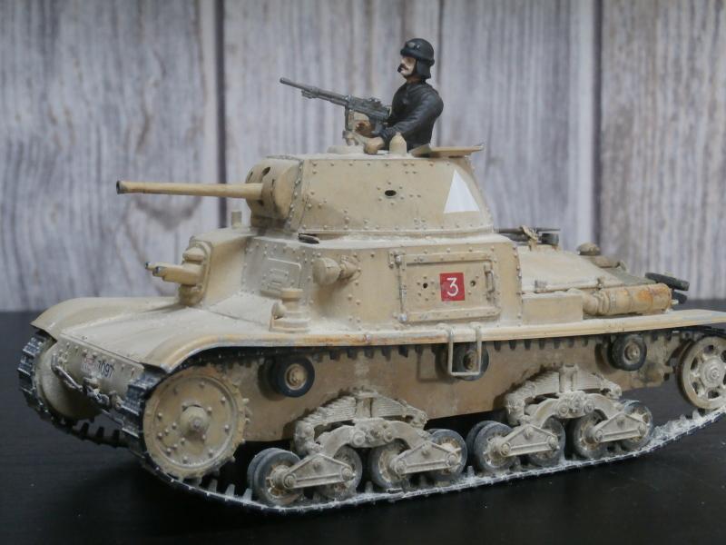 Carro Armato M14/41 Italeri 1/35 (FINI) - Page 2 Pa160012