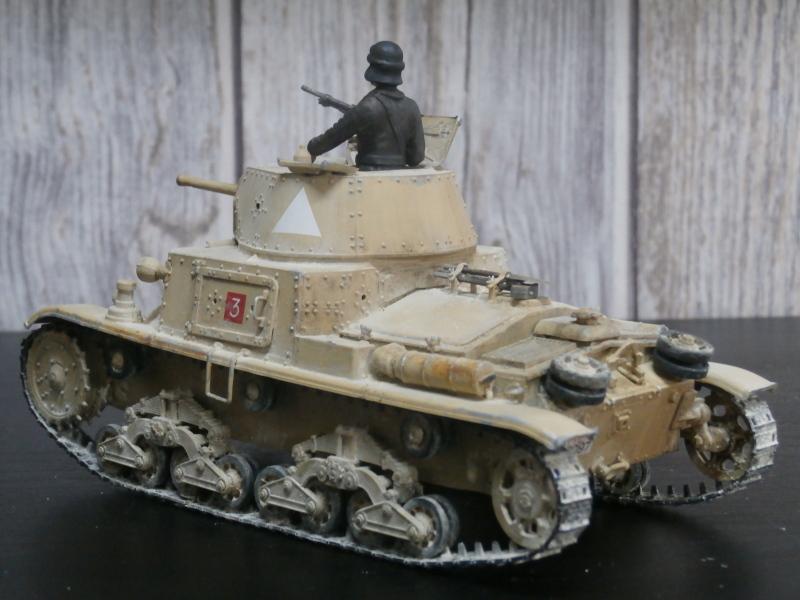 Carro Armato M14/41 Italeri 1/35 (FINI) - Page 2 Pa160013