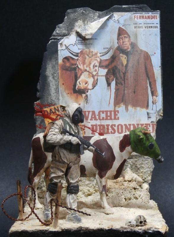 """Remake """"La vache et le prisonnier"""" 1/35 (FINI) - Page 2 Pa220010"""