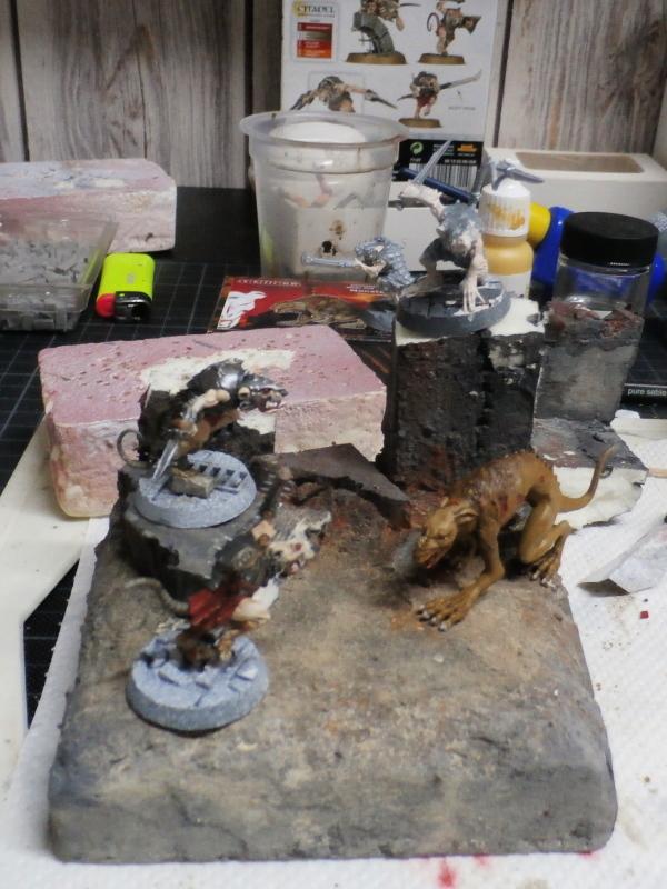 Spiteclaw's Swarm - figurines Wahrhammer (FINI) Pa270012