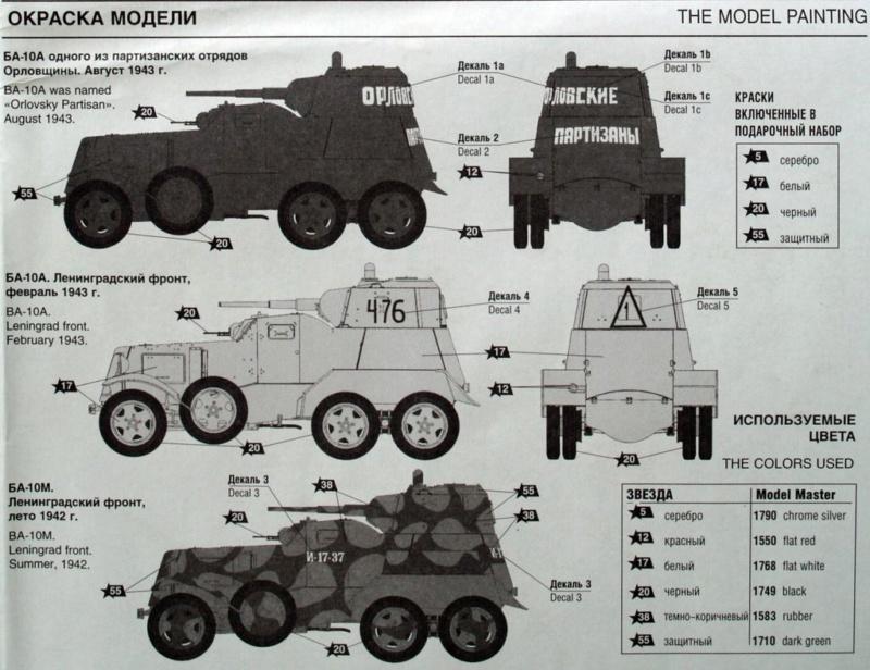 BA-10 Soviet armored car Zwezda 1/35 Pa312910