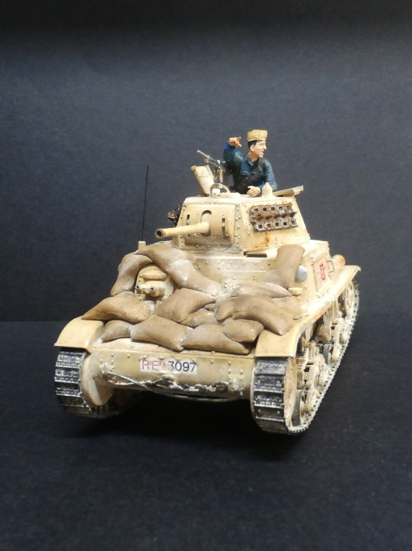 Carro Armato M14/41 Italeri 1/35 (FINI) - Page 3 Pb170013