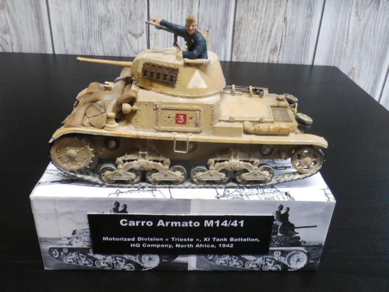 Carro Armato M14/41 Italeri 1/35 (FINI) - Page 3 Pb170017