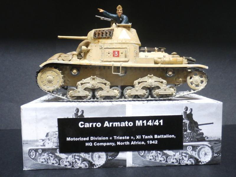 Carro Armato M14/41 Italeri 1/35 (FINI) - Page 4 Pb180010