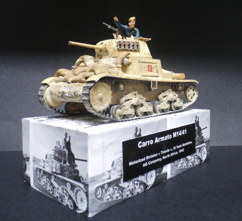 Carro Armato M14/41 Italeri 1/35 (FINI) - Page 4 Pb180011