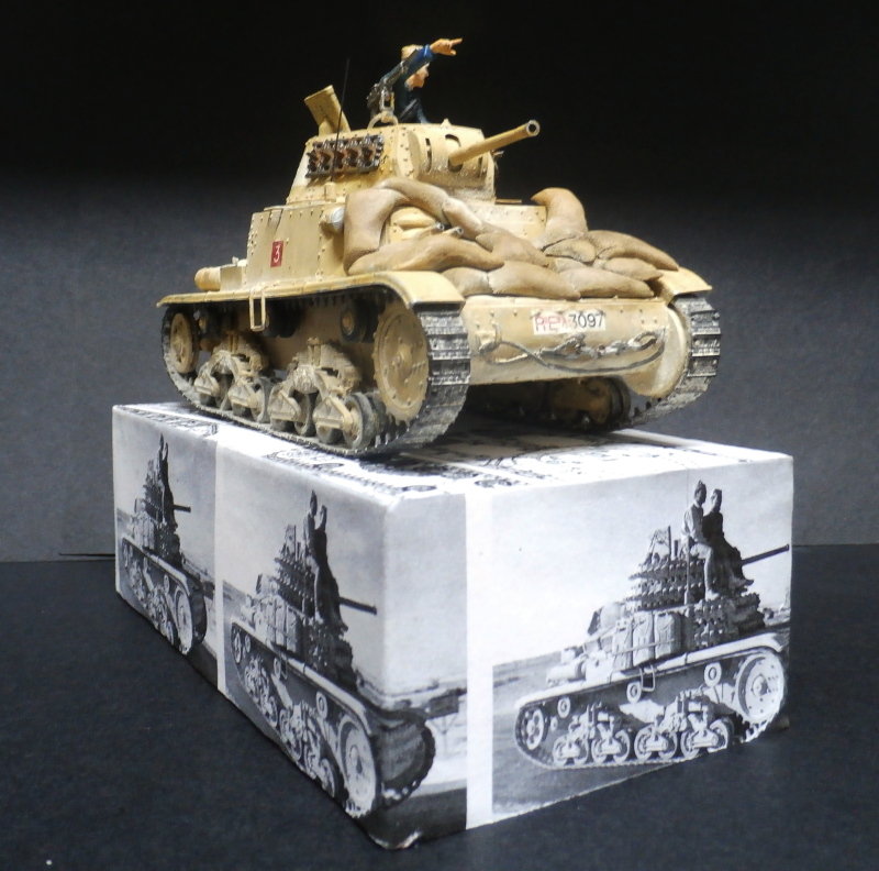 Carro Armato M14/41 Italeri 1/35 (FINI) - Page 4 Pb180012