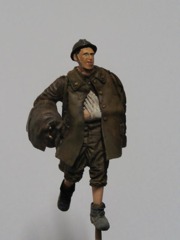 Soldat belge 1940 - figurine RetrokiT 1/35 (FINI) Pc070011