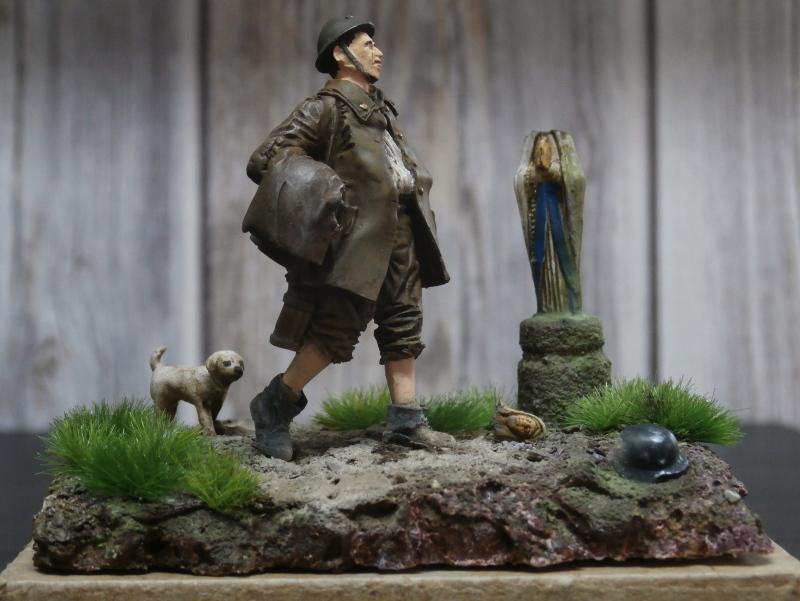Soldat belge 1940 - figurine RetrokiT 1/35 (FINI) Pc100013