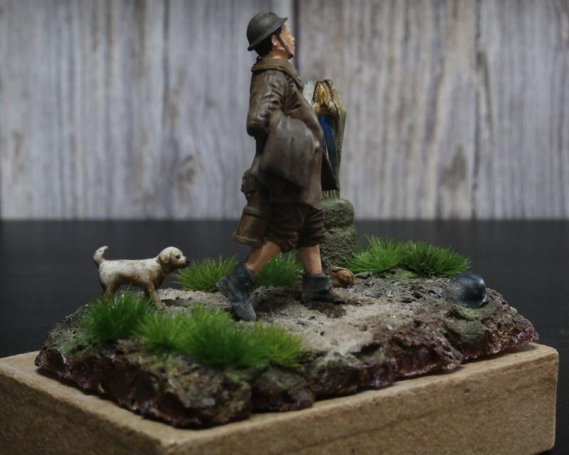 Soldat belge 1940 - figurine RetrokiT 1/35 (FINI) Pc100014