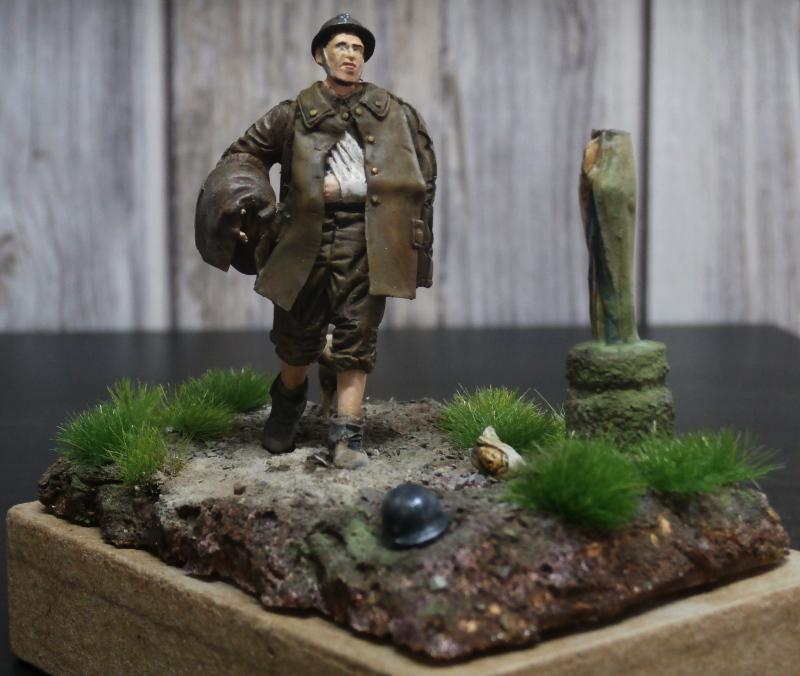 Soldat belge 1940 - figurine RetrokiT 1/35 (FINI) Pc100015