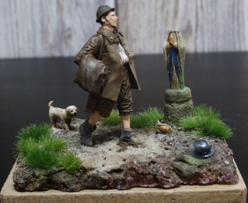 Soldat belge 1940 - figurine RetrokiT 1/35 (FINI) Pc100016
