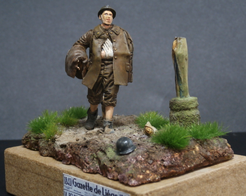 Soldat belge 1940 - figurine RetrokiT 1/35 (FINI) Pc110010