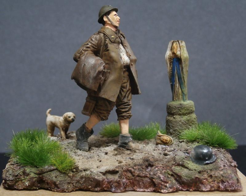 Soldat belge 1940 - figurine RetrokiT 1/35 (FINI) Pc110011