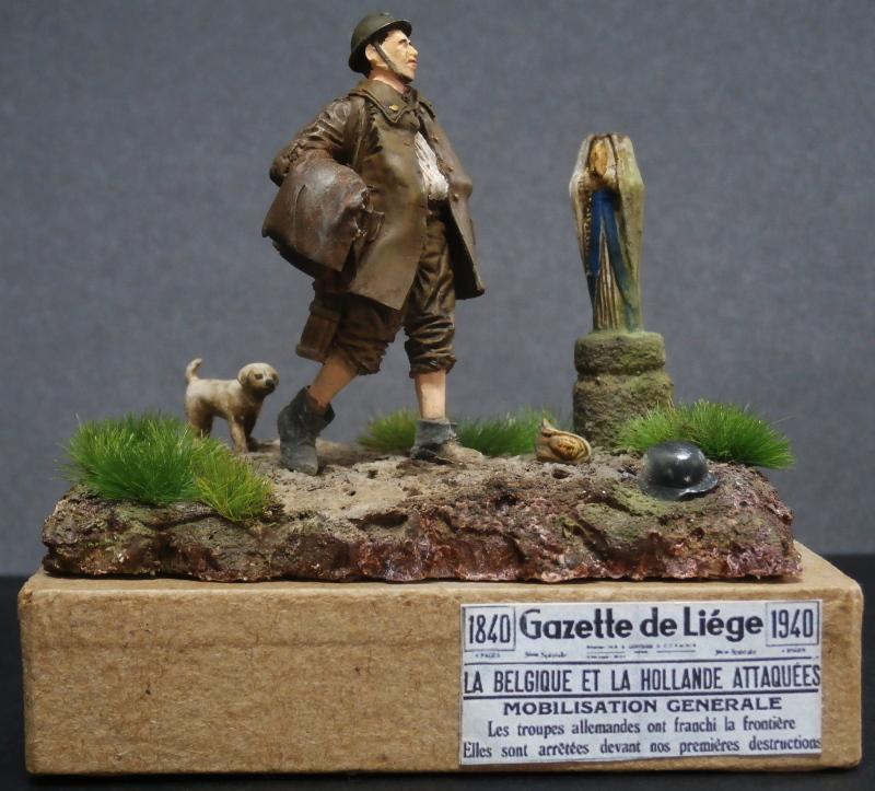 Soldat belge 1940 - figurine RetrokiT 1/35 (FINI) Pc110012
