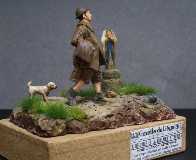 Soldat belge 1940 - figurine RetrokiT 1/35 (FINI) Pc110014