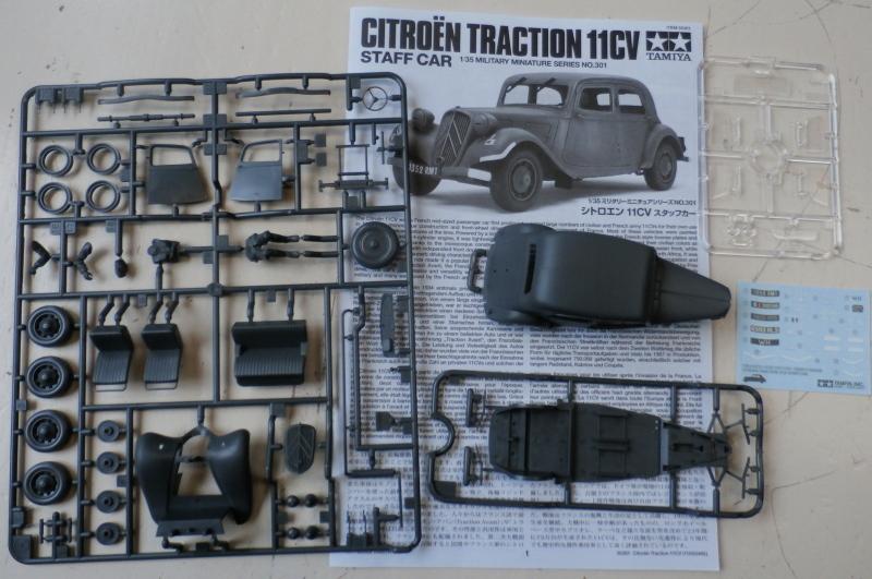 Citroën Traction 11cv Tamiya 1/35 (FINI) Pc190019
