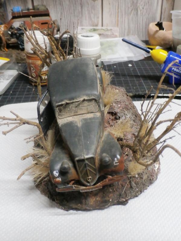 Citroën Traction 11cv Tamiya 1/35 (FINI) Pc210014