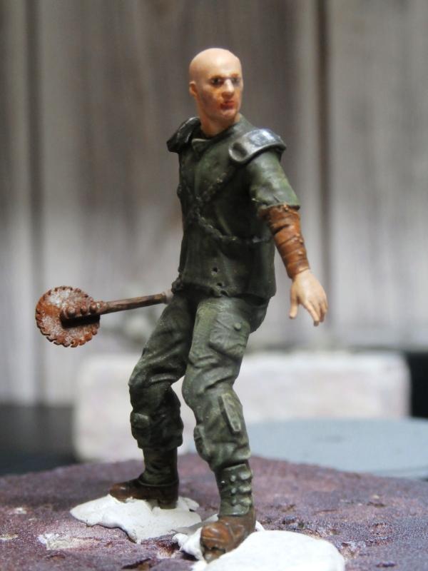 Post apocalyptic warrior - figurine Maim 1/35 (FINI) Pc310010