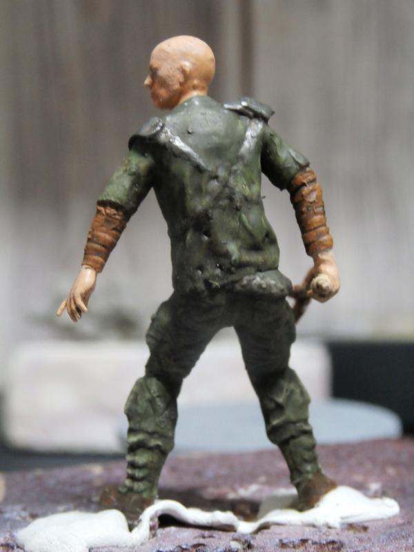 Post apocalyptic warrior - figurine Maim 1/35 (FINI) Pc310011