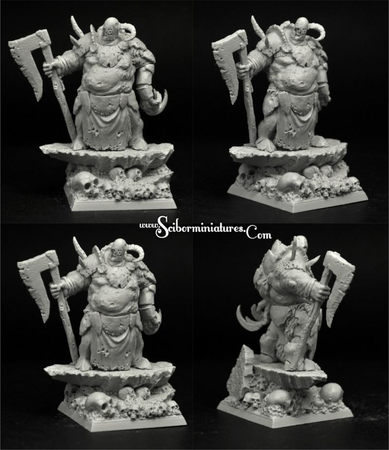 Rotten Lord -  Figurine Scibor Monstrous Miniatures - 46mm (FINI) Plague11