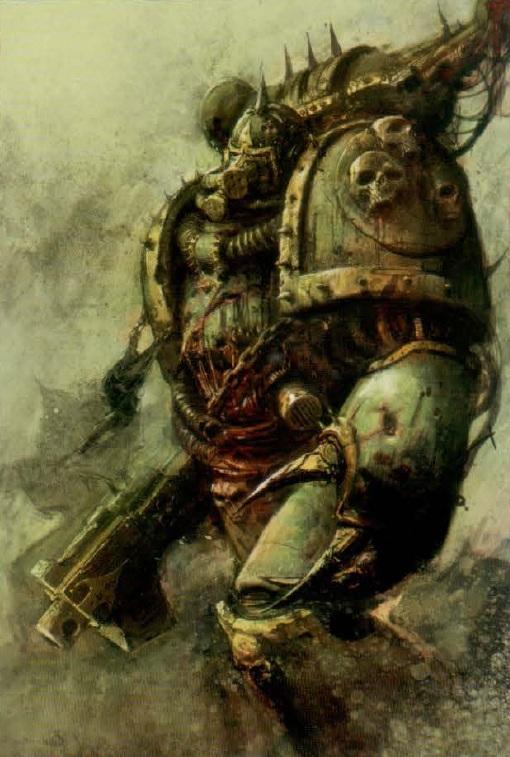 Death Guard Plague Marines - Warhammer - 28mm (FINI) Plague12