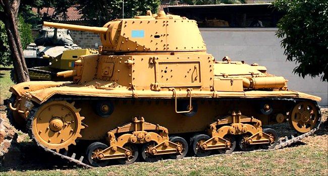 Carro Armato M14/41 Italeri 1/35 (FINI) Rome-m10