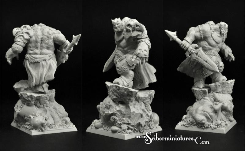 Rotten Lord -  Figurine Scibor Monstrous Miniatures - 46mm (FINI) Rotten11