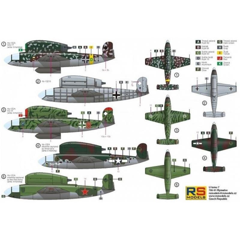 Henschell Hs 132A - RS Models 1/72 Rs-mod12