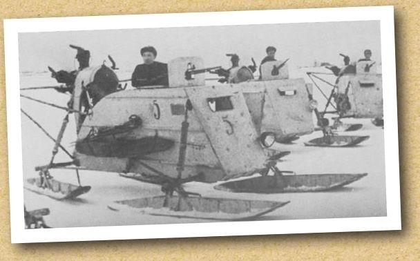 Soviet armoured Aerosan NKL-26 Trumpeter 1/35 S0310