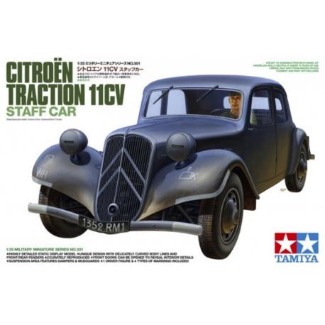 Citroën Traction 11cv Tamiya 1/35 (FINI) Tamiya11