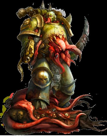 Death Guard Plague Marines - Warhammer - 28mm (FINI) Vig-de10