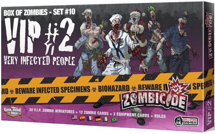 Zombicide 1 - figurine 30mm (FINI) Zombic10