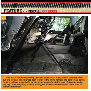 PRP Seats and Metal Tech 4x4 Creating comfort for your FJ 2a10