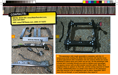 PRP Seats and Metal Tech 4x4 Creating comfort for your FJ 3a10