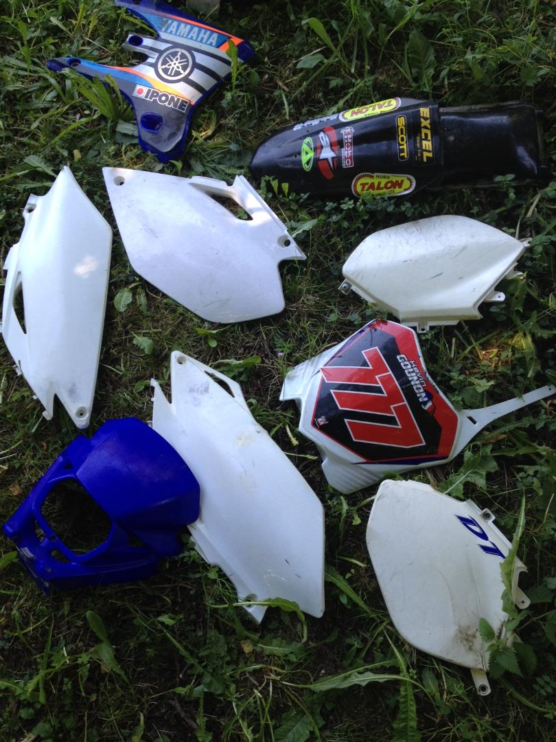 DONNE plastique yamaha Wrz10