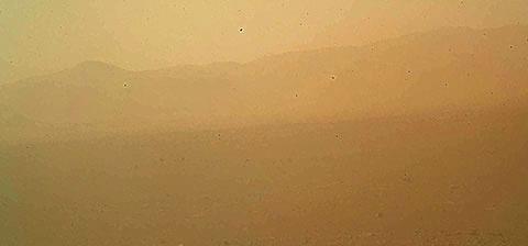 El aterrizaje del Curiosity en Marte y sus primeras imágenes Primer10