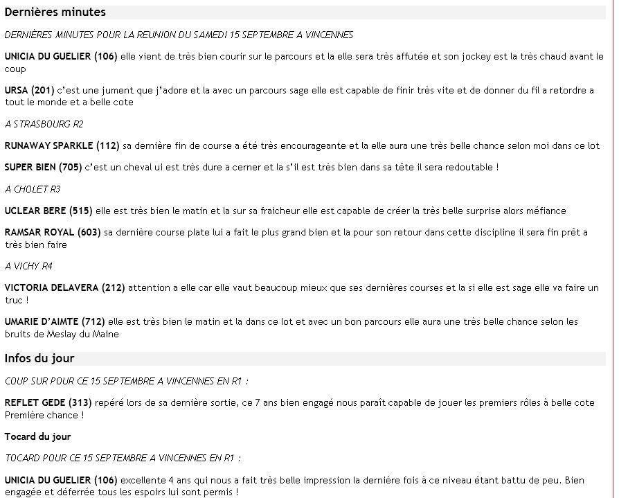 ICI ...Pas de TUYAUX Mais DES INFOS ENTRAINEMENTS ET PRONOS JOURNAUX - Page 14 Dm15se10