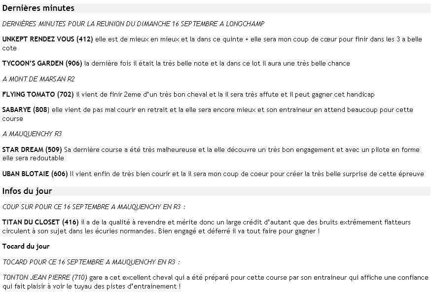 ICI ...Pas de TUYAUX Mais DES INFOS ENTRAINEMENTS ET PRONOS JOURNAUX - Page 14 Dm16se10