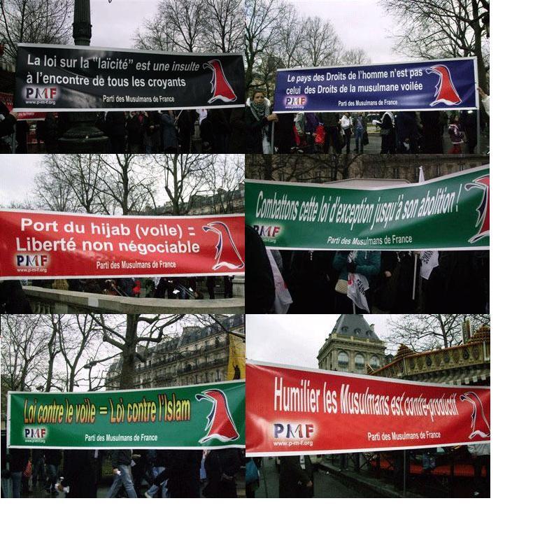 Doit-on tolérer le PMF, un parti islamiste en France ? Bander10