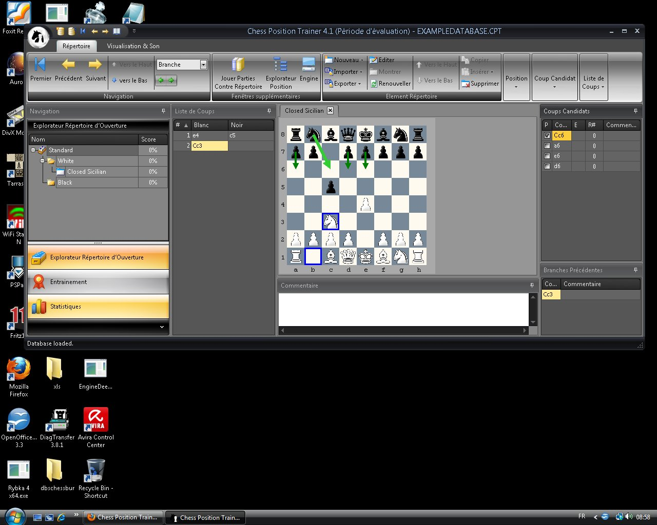 Chess Position Trainer Train10