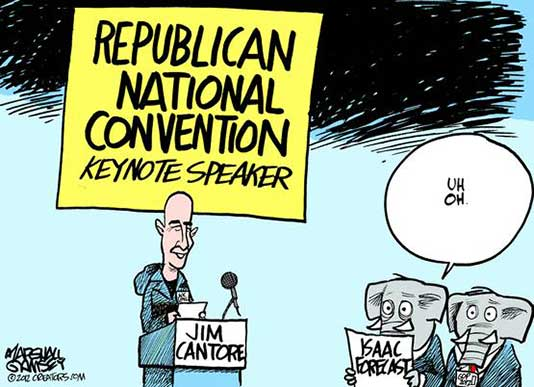 The Republican National Convention, Tampa, FL...An attempt at a leveraged buy-out of the White House 1310