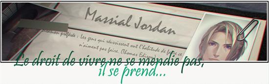 Massial Jordan || Notes en vrac || Sign-m11