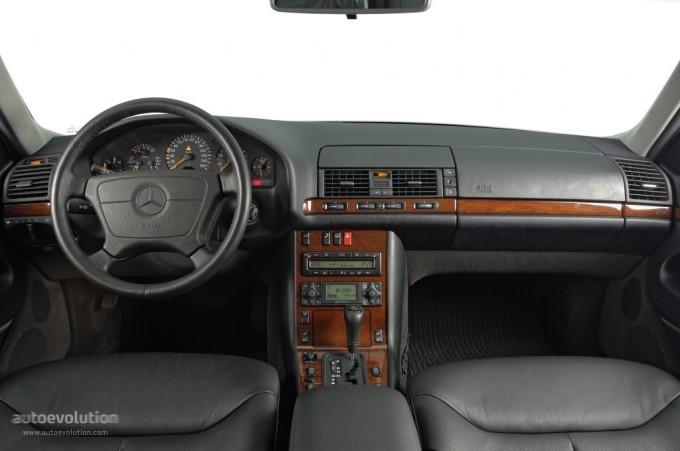 Mercedes classe S W140 Interi11
