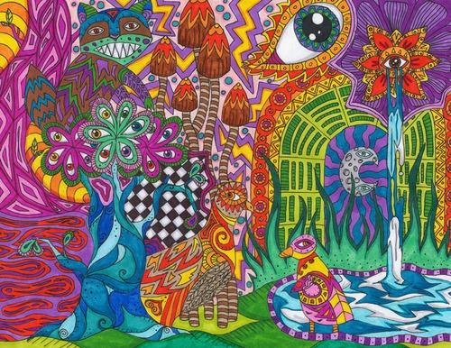 Psychedelic Art Spirit10
