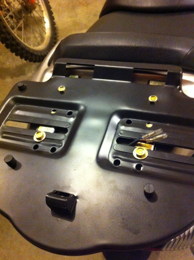 Rear Rack for Bestem T-Box TBOX-2012-SIL  Pic510